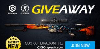 CS GO Free SSG 08 Dragonfire Giveaway