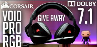 Win Corsair Void Pro RGB Gaming Headphone