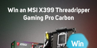 Win an MSI X399 Threadripper Gaming Pro Carbon