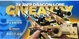Win AWP Dragon Lore CS:GO Skins Giveaway