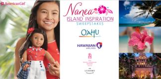 American Girl® Nanea Island Inspiration Sweepstakes