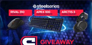 SteelSeries Bundle Gaming Gear Giveaway