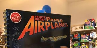 The Klutz Book of Paper Airplanes Competition