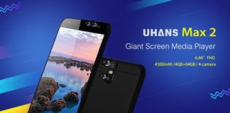Win 1 of 3 UHANS Max 2 Smartphone