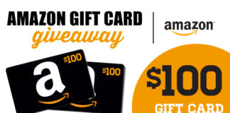 Win $100 Amazon eGift Card