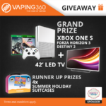 Win 42' LED TV, XBOX One S, 2 x XBOX One Game And More