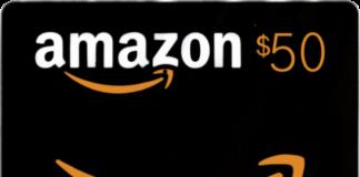 Win $50 Free Amazon Gift Card (10 Winners)