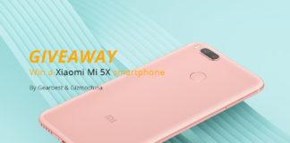 Win A Free Xiaomi Mi 5X Smartphone