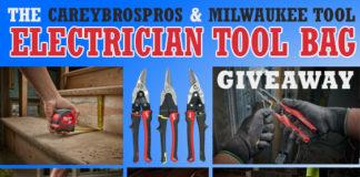 Win Milwaukee Electrician Tool Bag Worth $680