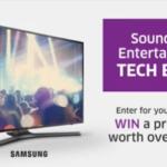 "Win Samsung MU6300 49"" 4K UHD Smart TV Contest"