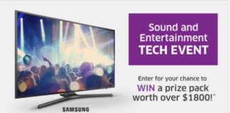 "Win Samsung MU6300 49"" 4K UHD Smart TV Contest"