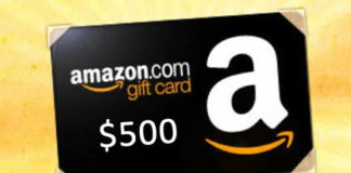 Win a $500 Amazon Gift Card From Love Books