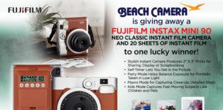 Win a Fujifilm Instax Mini 90 Neo Classic Camera