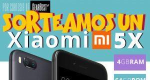 Win a Xiaomi Mi 5X Smartphone Sorteo