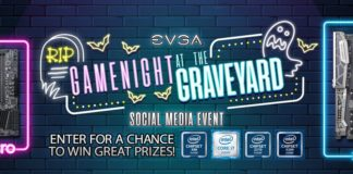 EVGA Game Night at The Graveyard Event Giveaway