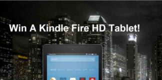 Kindle Fire HD Tablet Giveaway