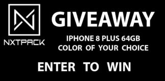 Nxtpack - WIN an Apple iPhone 8 Plus 64GB Smartphone