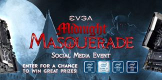 PC Hardware Giveaway From EVGA's Midnight Masquerade Instagram Event