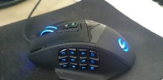 UtechSmart Venus 16400 DPI MMO Gaming Mouse Giveaway