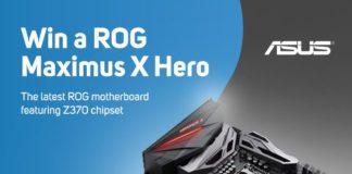 Win Asus Z370 Maximus X Hero Gaming Motherboard