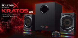 Win Sound BlasterX Kratos S5 2.1 Gaming Speaker