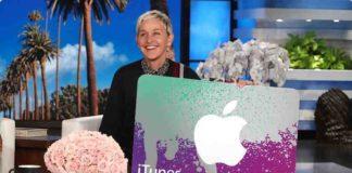 Win a $500 iTunes Gift Card From Ellen TV
