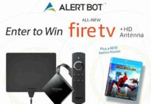 Win a AlertBot 4K Fire TV + Amazon Gift Card