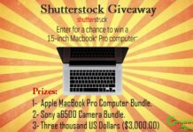 Win a Macbook Pro, Sony a6500 Camera Bundle Or $3,000 Cash Prize