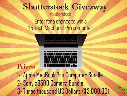 Win a Macbook Pro, Sony a6500 Camera Bundle Or $3,000 Cash Prize