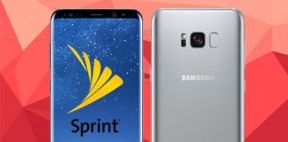 Win a Samsung Galaxy S8+ Smartphone From Sprint