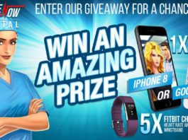 Win an iPhone 8 or Google Pixel and 5 FitBit Charge 2