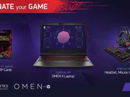 Win an HP OMEN X Laptop From Mobalytics