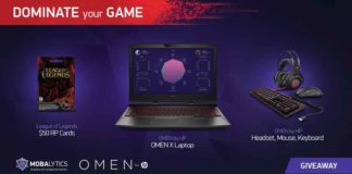 Win an HP OMEN X Laptop From Mobalytics