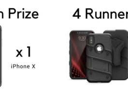 Win an iPhone X and 4 Zizo Bolt Cases