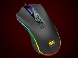 Win the Redragon M711 COBRA Gaming Mouse