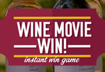 Cameron Hughes Wine Movie Instant Win Sweepstakes