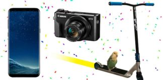 ReyesdelChollo - Win Samsung S8 Smartphone, Cannon G7X Camera And More