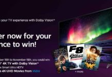 """Win Philips 55"""" Smart 4K Ultra HDTV with Dolby Vision"""