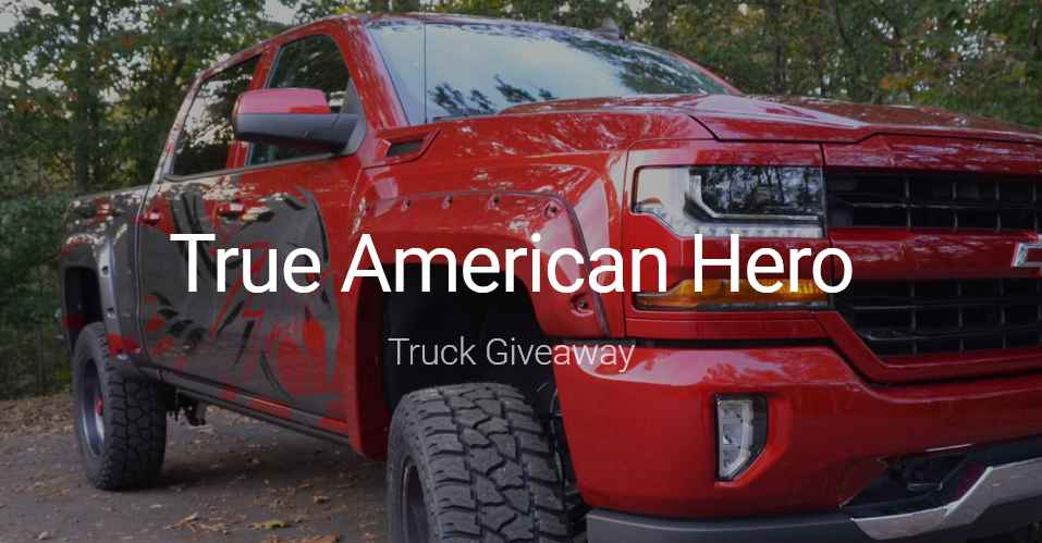 american trucks giveaway